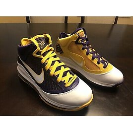 New Nike Lebron 7 QS Media Day Sneaker Shoes Size US 6
