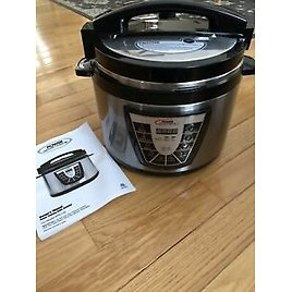 Power Pressure Cooker XL 10-Qt. One Touch Cooking As Seen On TV PPC790 *See Ad
