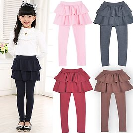 US $9.46 30% OFF|Infant Girls Pants Spring and Autumn Girls Culottes Multi Color Stretch Pant Kids Baby Korean Skirt Leggings Children's Clothing|Pants| - AliExpress