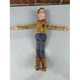 Vintage Disney Talking Woody No Pull String Doll Toy Story, Not Working
