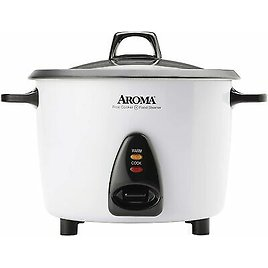 Aroma Rice Cooker & Food Steamer 20 Cup ARC-360-NGP Certified Refurbished 21241133609