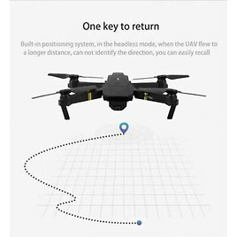 Drone X Pro Foldable Quadcopter WIFI FPV with 1080P HD Camera N