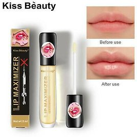 Lip Booster EXTREME Lip Gloss ENHANCER PLUMPER VOLUME LIPS with HYALURON Clear