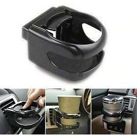 Car Accessories Drink Cup Holder Auto Air Vent Clip-on Mount Water Bottle Stand