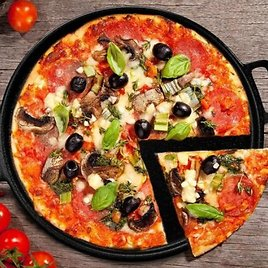 Healthy /& Heavy Duty P/&P CHEF Pizza Pans Round Pizza Dish Plate For Oven Baking Rust Free /& Dishwasher Safe 3 Pcs 13/½ Inch Stainless Steel Pizza Tray
