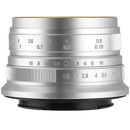 7artisans 25MM F1.8 MANUAL Fixed LENS For Canon EOS M Camera M1 M2 M3 M5 M6