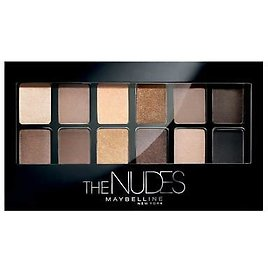 MAYBELLINE The NUDES Eyeshadow Palette 9.6g - NEW Sealed