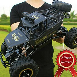 4WD RC Monster Truck Off-Road Vehicle 2.4G Remote Control Buggy Crawler Car 7