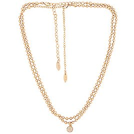 Ettika Ball Necklace with Crystal Ball Accent in Gold New| REVOLVE