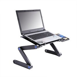 US $19.99 30% OFF|Adjustable Laptop Desk Ergonomic Portable TV Bed Lapdesk Tray PC Table Stand Notebook Table Sofa Desk Stand With Mouse Pad|Laptop Desks| - AliExpress