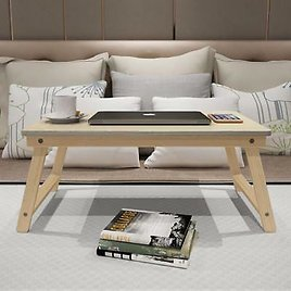 Foldable Computer Desk Wood Solid High Quality Durable Laptop Accessories Decors