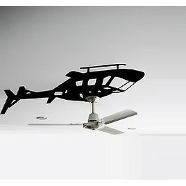 Helicopter Ceiling Fan , Wall or Ceiling Fan Decal