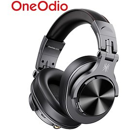 Oneodio A70 Professional DJ Headphones Portable Wireless/Wired Headset Music Share Bluetooth 5.0 Headphone For Recording Monitor