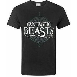 Fantastic Beasts And Where To Find Them Logo Men's T-Shirt
