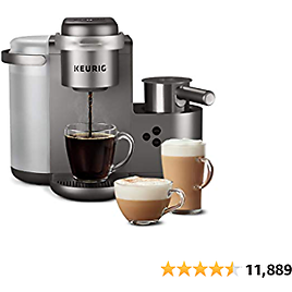 Keurig K-Cafe Special Edition Single Serve K-Cup Pod Coffee, Latte and Cappuccino Maker, Comes with Dishwasher 2020