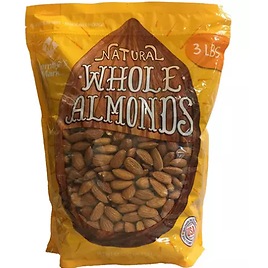 Mark Natural Whole Almonds (3 Lbs.)