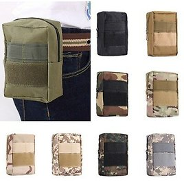 Utility Outdoor Tactical Pouch Belt Waist Fanny Pack Bag Military Phone Pocket