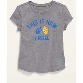 Holiday Graphic Tee for Toddler Girls