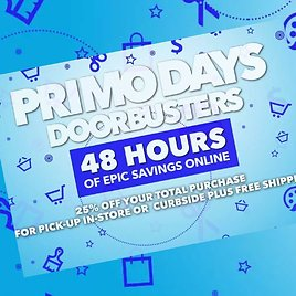 Up to 70% Off Primo Days Doorbuster's + Extra 25% Off