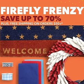 Up to 70% Off 'Firefly Frenzy' Savings Event + More