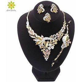 Jewelry Set Party Necklace Earrings Set For Women