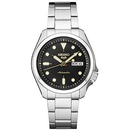 Seiko Men's Automatic 5 Sports Stainless Steel Bracelet Watch 40mm & Reviews - Watches - Jewelry & Watches
