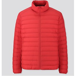 UNIQLO MEN RED ULTRA LIGHT DOWN JACKET NWT SIZE L