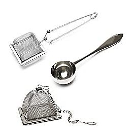 VAHDAM, Set of 2 Infusers & 1 Tea Spoon - 100% Stainless Steel, HIGHEST QUALITY 2020