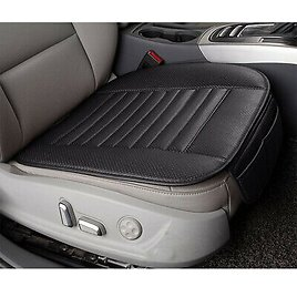 PU Leather Bamboo Car Seat Breathable Cover Pad Mat for Auto Car Chair Cushion
