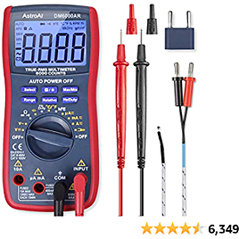 Up to 36% off with $5 coupon AstroAI Digital Multimeter