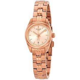 TISSOT T-Classic Rose Rose Gold PVD Dial Ladies Watch