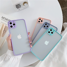 Case For IPhone 12 7 8 XR 11 Pro Max X Shockproof Hard Back Phone Cover Bumper