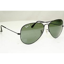 Authentic RAY-BAN Polarized Vintage Sunglasses Aviator 62 Mm Large RB 3025 31707