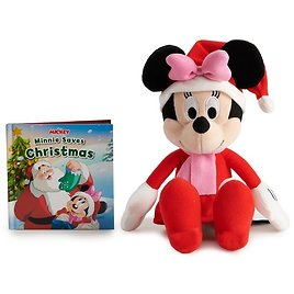 Minnie Mouse Plush and Book Bundle