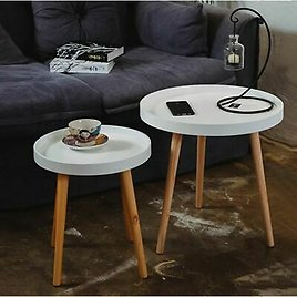Coffee Table Home Furniture Minimalist Modern Solid Wood Living Room Decorations