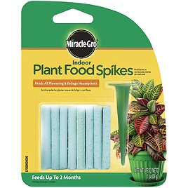 Miracle-Gro Indoor Plant Food Spikes, 24 Spikes