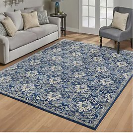 Rio Rug Collection, Potala Blue (15$ Off from Original Price)