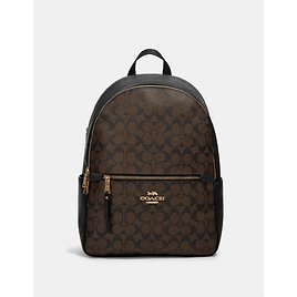 Addison Backpack in Signature Canvas