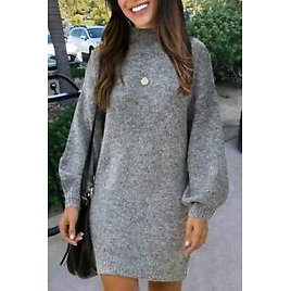 Hollow Women Solid Cardigan Girl Knit Tops Chunky Students Women's Long Sleeve