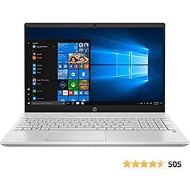 """HP Pavilion Laptop, 15.6"""" Full HD IPS Touchscreen, 10th Gen Intel Core I5-1035G1 Processor Up to 3.60GHz"""