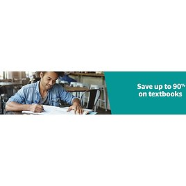 Save Up to 90% On Rental, New, Used, and Digital Textbooks
