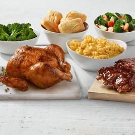 $25 Family Combo Chicken & Ribs Meal for 4