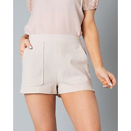 Andee High Waist Shorts   S-L