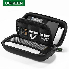 """Ugreen External Storage 2.5"""" Hard Drive Case HDD SSD for Seagate Power Bank Bag"""