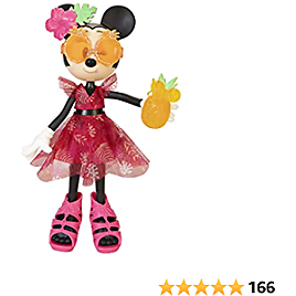 Disney Minnie Mouse Doll Island Icon Deluxe Fashion Doll
