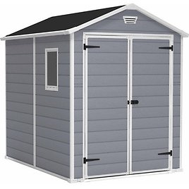 Keter Manor 6 X 8-ft Resin Storage Shed