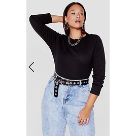 Learn The Basics Plus Crew Neck Top | Nasty Gal