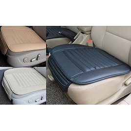 2Pcs Breathable Car Interior Seat Cover Cushion Pad Mat Leather Auto Supplies