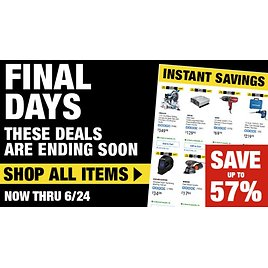 Up to 57% Off Instant Savings Hot Buys