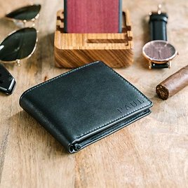 Valentines Day Gift for Him,Personalized Wallet,Mens Wallet,Engraved Wallet,Custom Wallet,Leather Wallet,Boyfriend Gift for Men,Gift for Dad